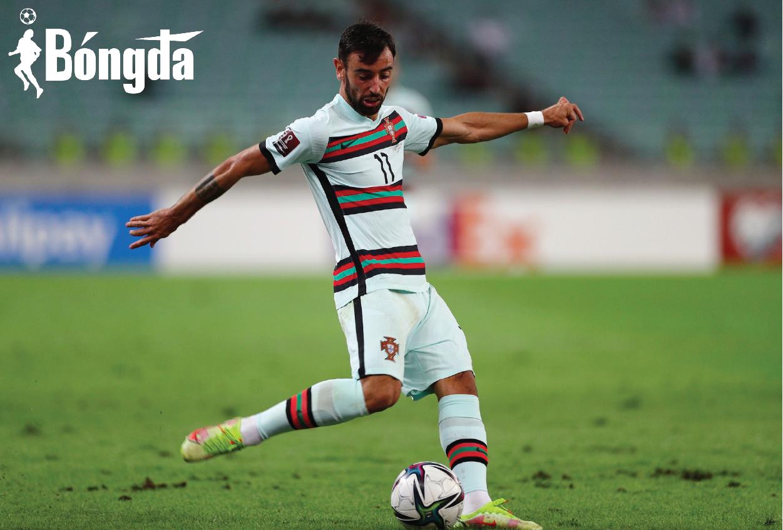 Vắng Ronaldo, Bồ Đào Nha vẫn đại thắng nhờ Bruno Fernandes