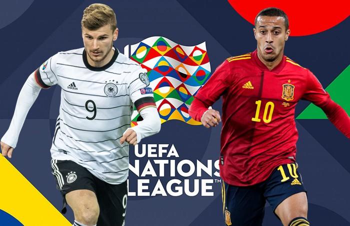 Tây Ban Nha vs Đức: UEFA Nations League - Những số liệu thống kê trận đấu