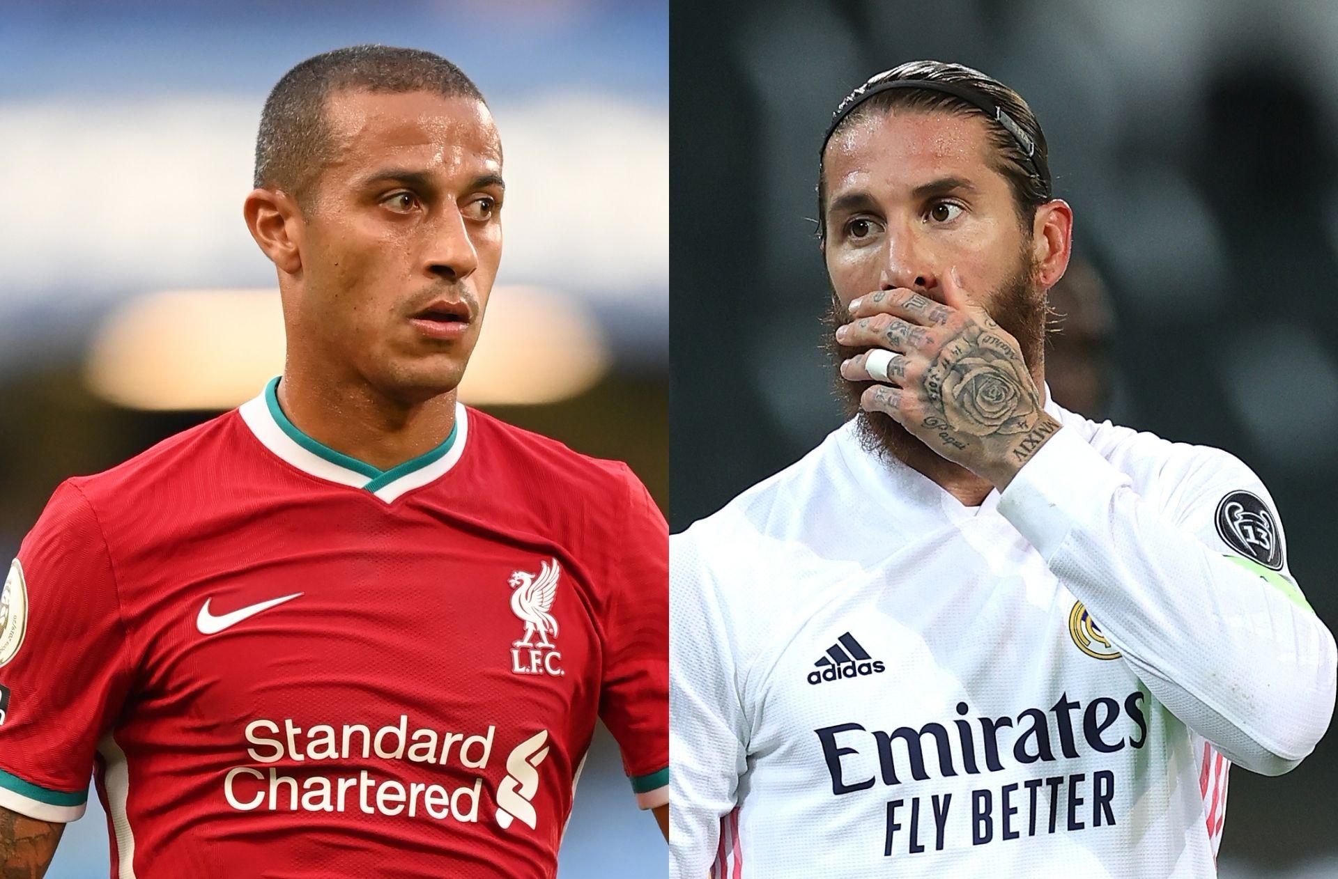 """Thiago đã sẵn sàng cho trận chiến với Sergio Ramos trong cuộc đụng độ Champions League: """"Anh ấy sẽ là đối thủ của tôi"""""""