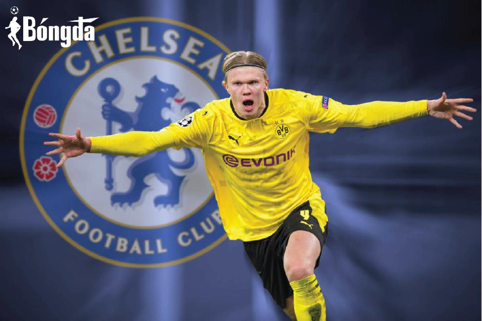 Haaland sốc khi Chelsea quyết mua mình với giá 175 triệu euro