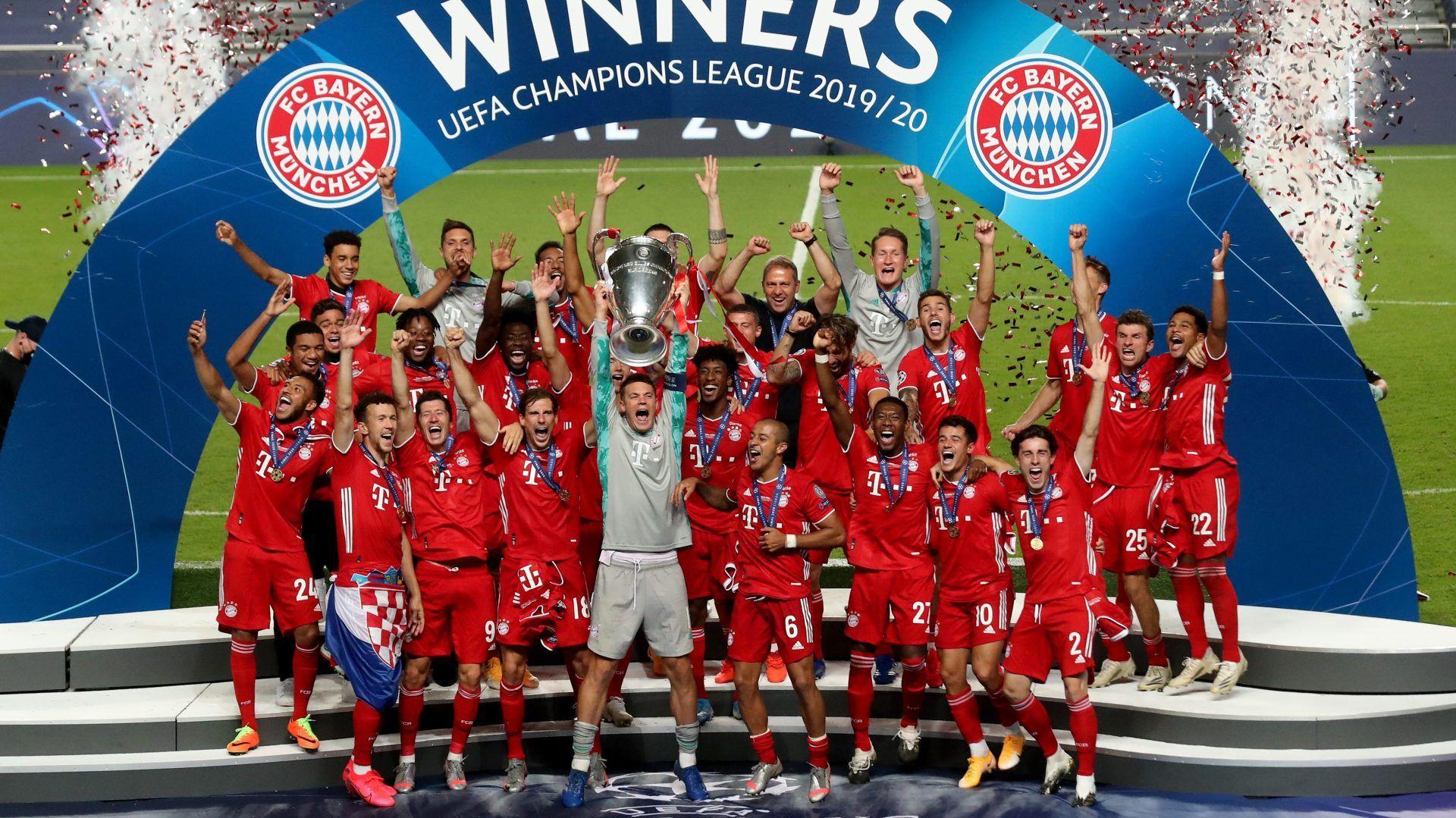 Bayern Munich là ĐKVĐ Champions League 2019/20