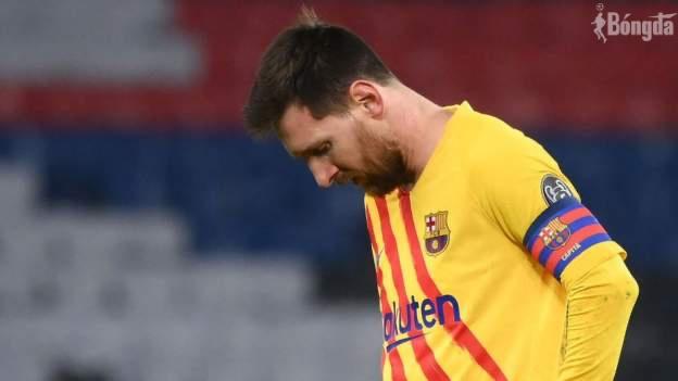 Barca lần đầu bị loại sớm tại Champions League sau 14 năm