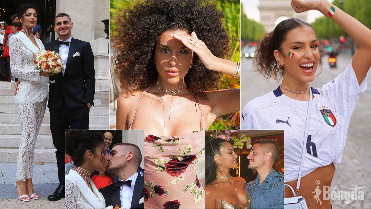 Sau chức vô địch Euro 2020, Verratti và vợ mới cưới 'lãng mạn' tại Hy Lạp