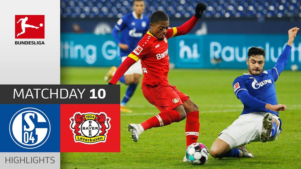 Bayer Leverkusen vươn lên vị trí thứ 2 BXH Bundesliga sau khi đánh bại Schalke