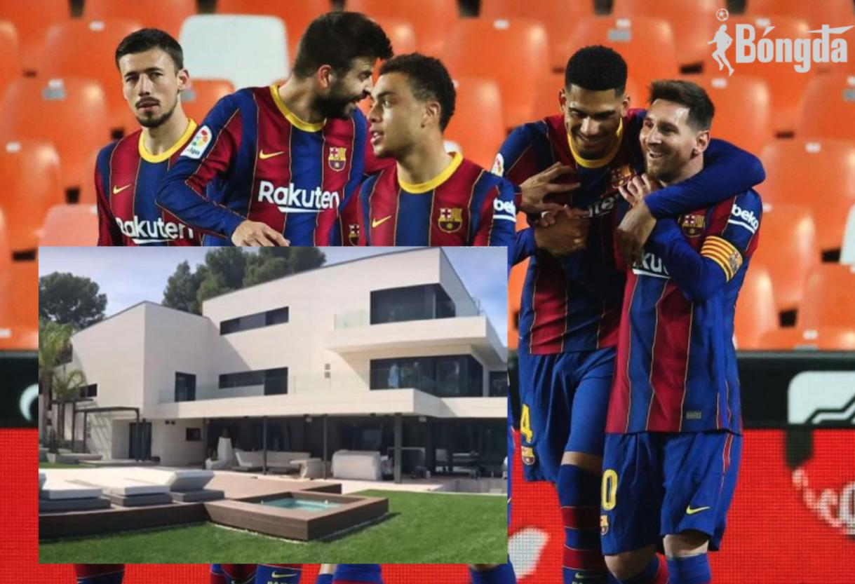 Messi và các cầu thủ Barcelona bị La Liga điều tra vì tụ tập ăn mừng tại nhà riêng