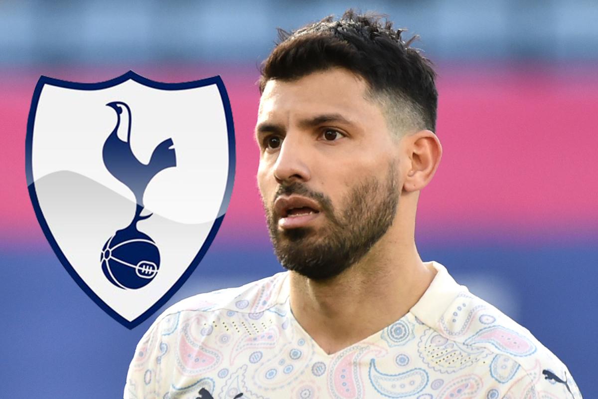 Sốc: Tottenham Hotspur có thể là bến đỗ mới của Sergio Aguero sau khi rời khỏi Man City