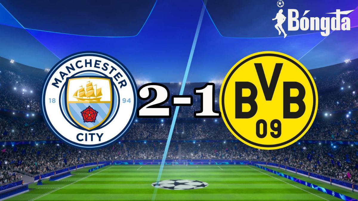 Manchester City đánh bại Borussia Dortmund để vào bán kết Champions League