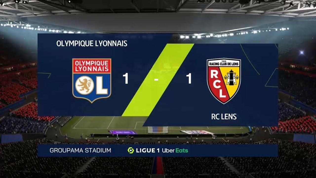 Lyon bị cầm hoà ngoạn mục trước Lens