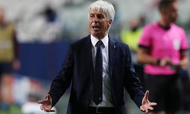 HLV Gian Piero Gasperini của Atalanta chỉ trích trọng tài đã phá hỏng trận đấu với Real Madrid
