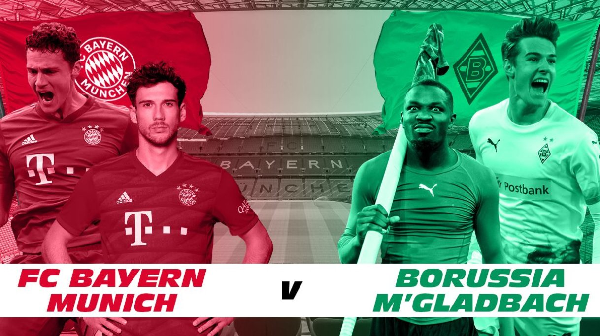 Dự đoán cuộc chiến khốc liệt giữa Gladbach và Bayern Munich