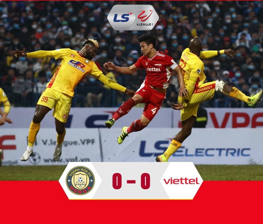 Viettel vs Đông Á Thanh Hoá: Nhà vô địch vẫn chưa khởi động
