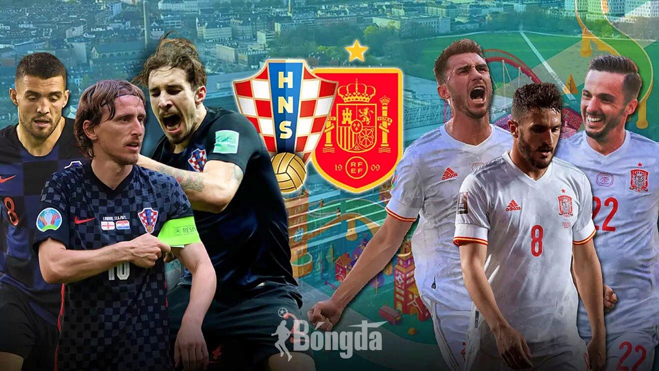 EURO 2020: Tây Ban Nha đá bay Croatia trong trận đấu được đánh giá hay nhất Euro 2020