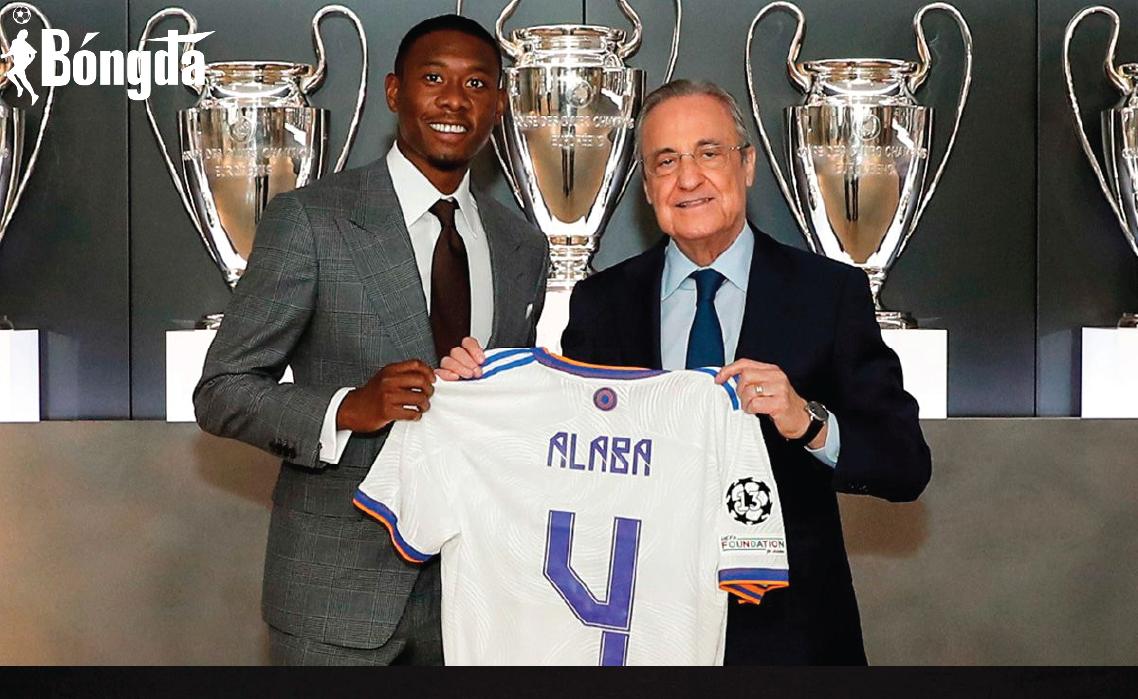 Alaba ra mắt Real Madrid, thừa kế số áo Sergio Ramos để lại