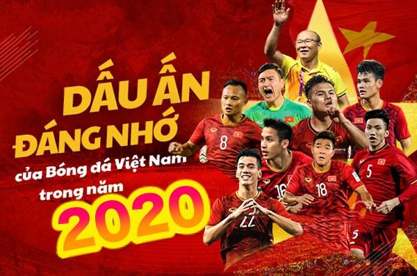 Những điểm nhấn của bóng đá Việt Nam trong năm 2020
