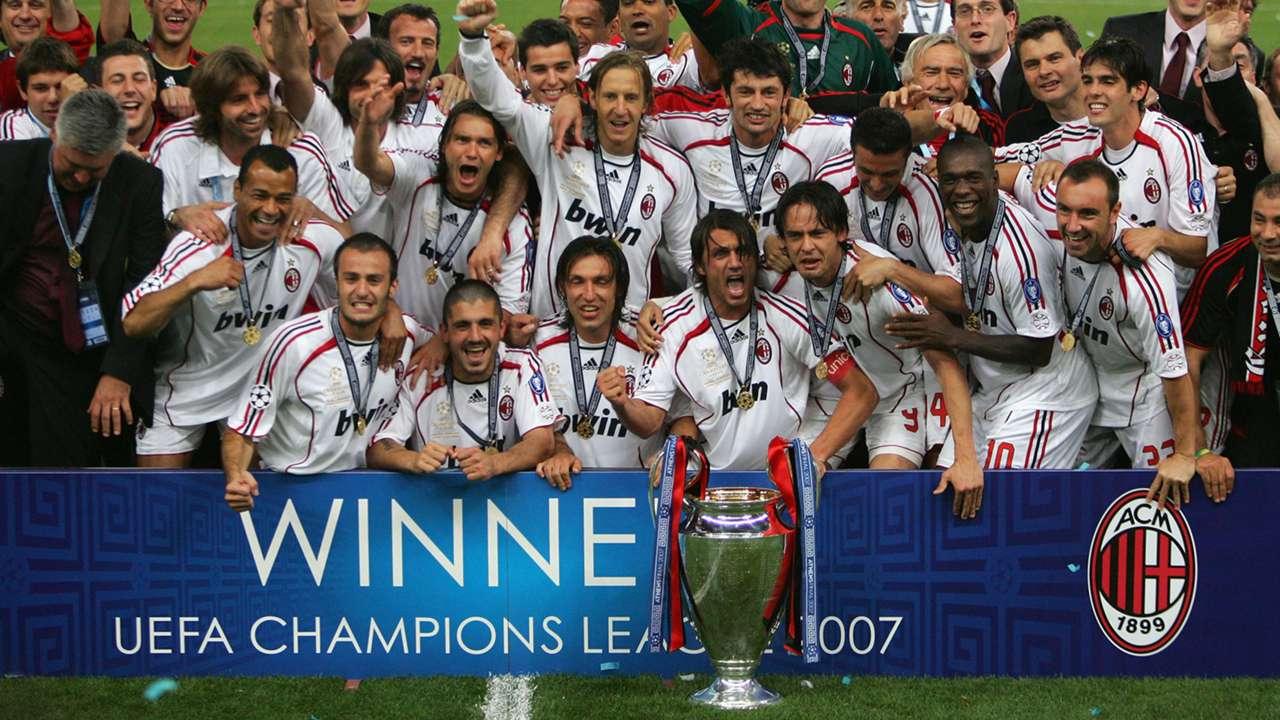 AC Milan có quá khứ hùng hồn tại Champions League
