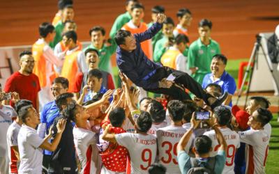 Viettel với lối chơi thực dụng đặc trưng đã giành ngôi vương V-League 2020