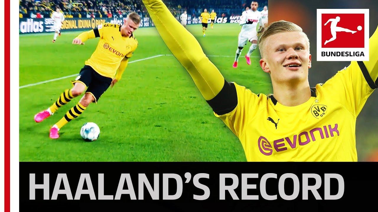 Erling Haaland: 9 kỷ lục khó tin mà ngôi sao Dortmund lập được ở tuổi 20