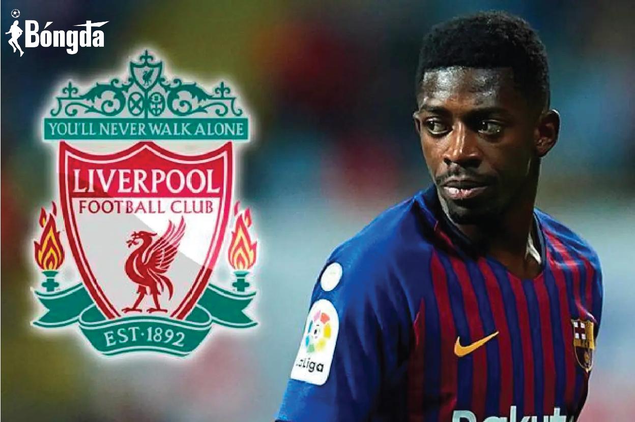 Rời Barcelona, Liverpool có thể là bến đỗ tiếp theo của Dembele