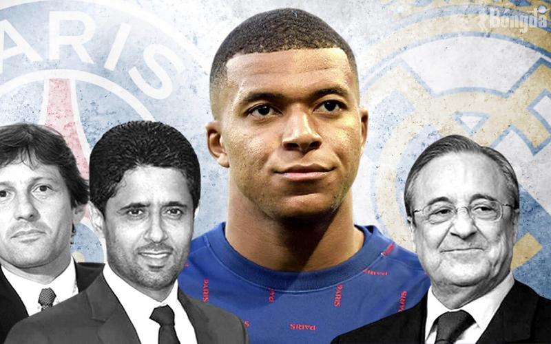 """Sếp PSG nổi đoá với chủ tịch Real Madrid sau tuyên bố """"chốt hạ"""" Kylian Mbappe"""
