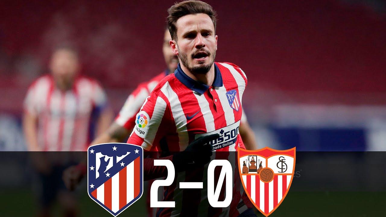 Atletico củng cố ngôi đầu bảng La Liga với chiến thắng trước Sevilla