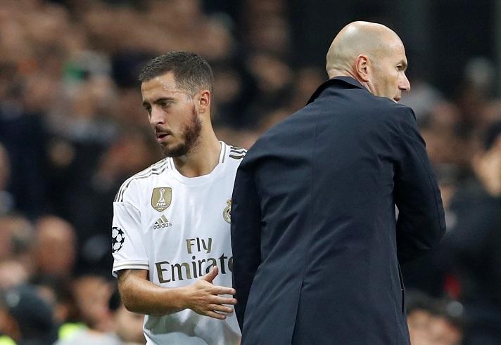 Kế hoạch mới của HLV Zidane dành cho Hazard