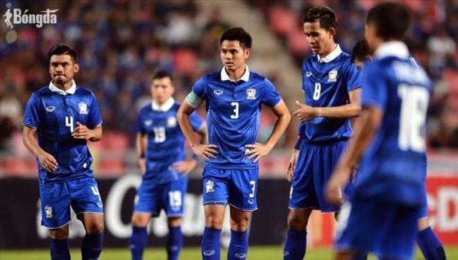 """Thái Lan tụt """"không phanh"""" trên BXH FIFA, âm mưu """"nẫng"""" HLV Kiatisak để đánh bại ĐT Việt Nam"""