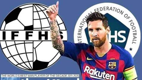 Messi vượt mặt Ronaldo đứng đầu bảng danh sách cầu thủ xuất sắc nhất thập kỷ 2011-2020