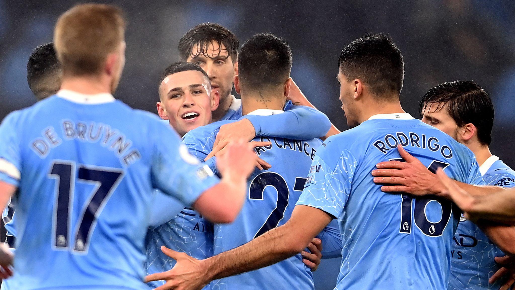 Man City lên Top 3 với chiến thắng tối thiểu trước Brighton