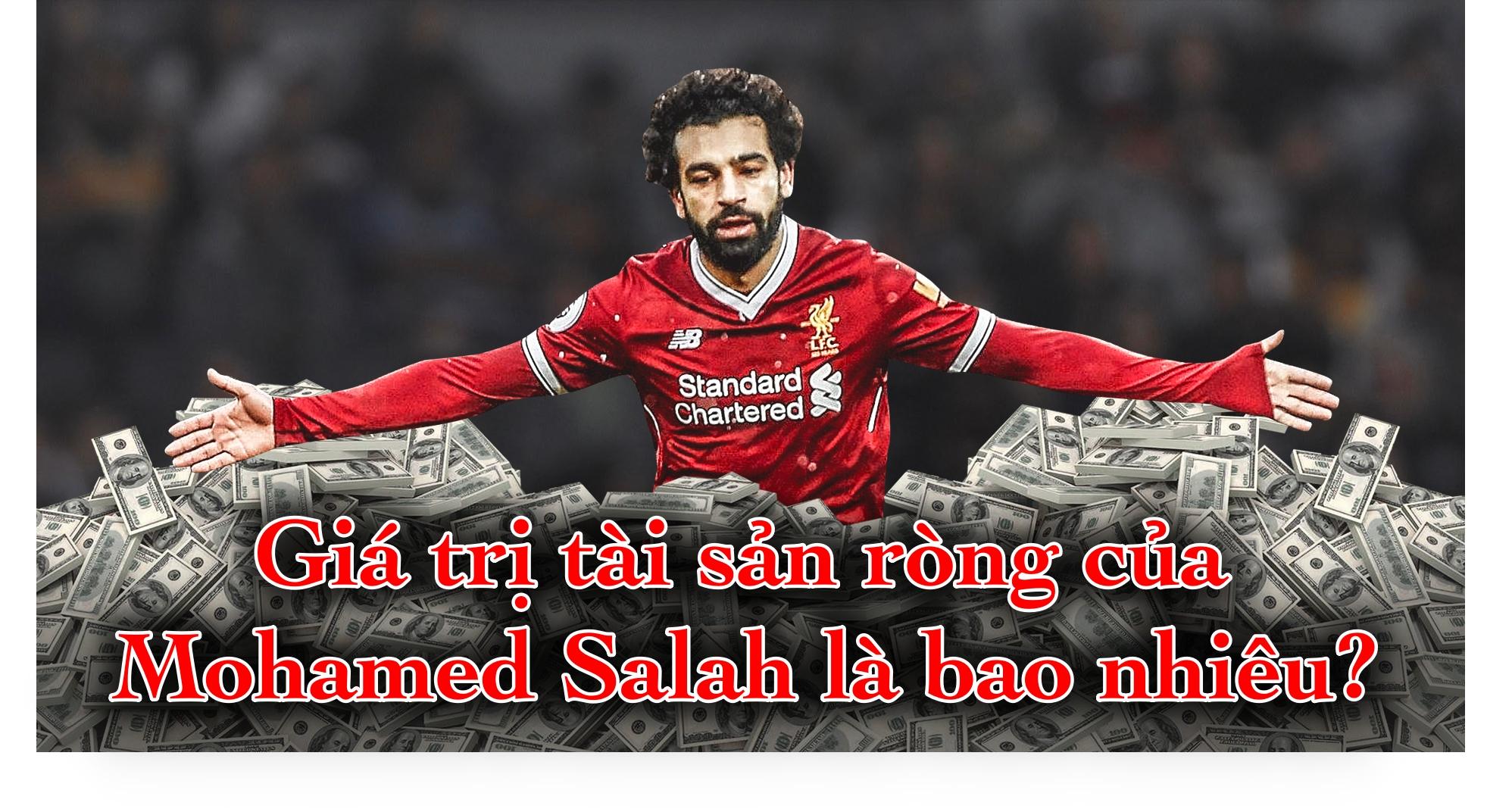Giá trị tài sản ròng của Mohamed Salah là bao nhiêu?