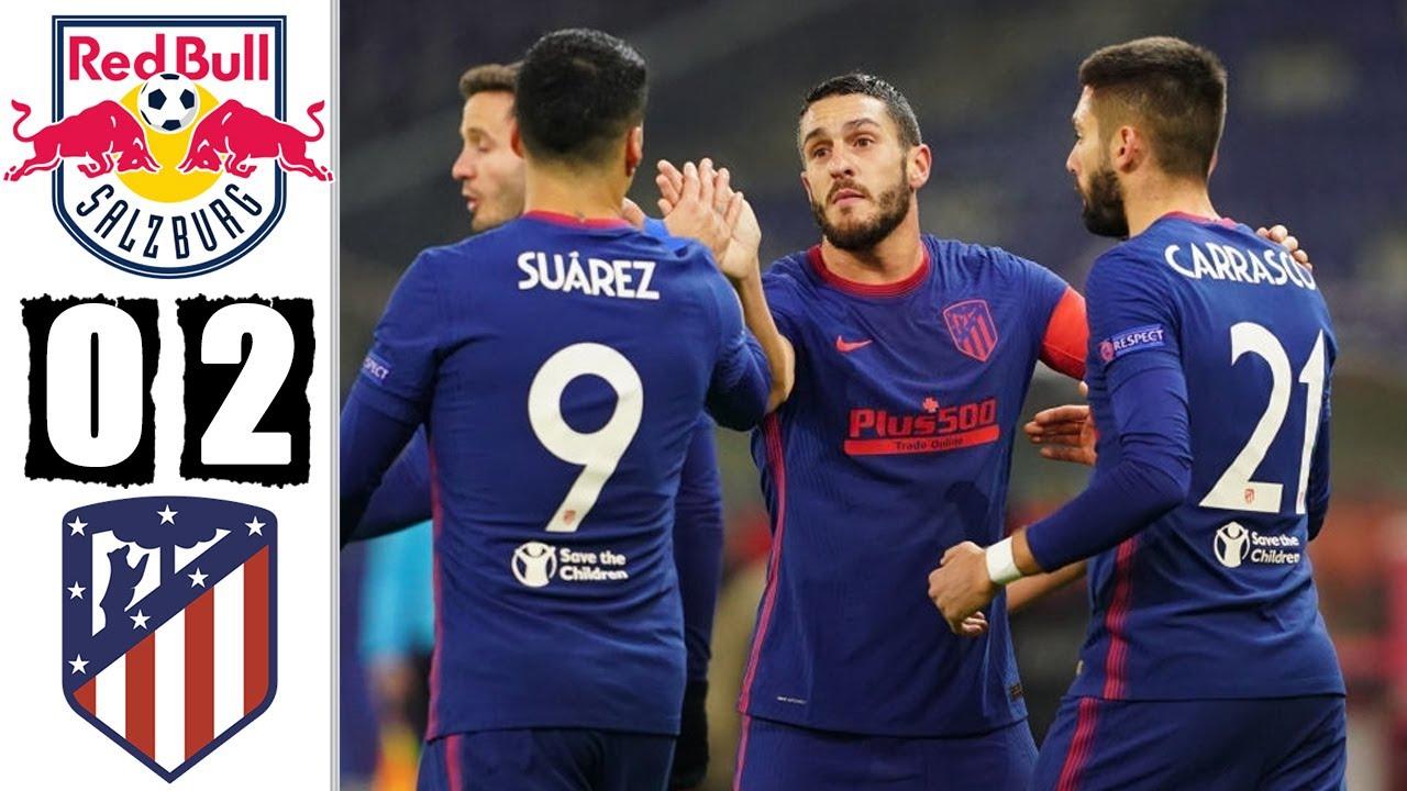 Atletico Madrid giành quyền vào vòng loại trực tiếp Champions League
