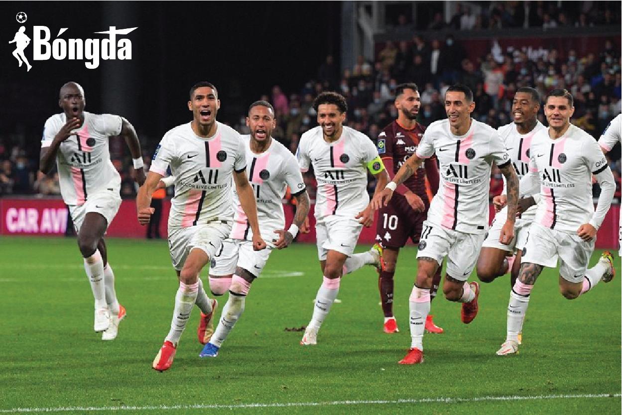 Không Messi, PSG thắng nhọc ở phút bù giờ