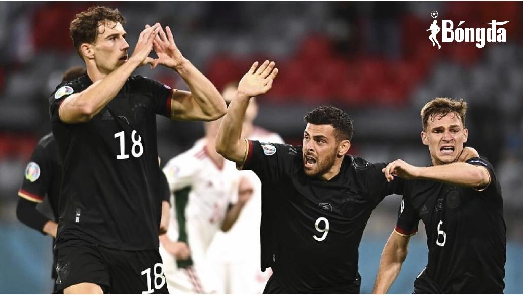 EURO 2020: ĐT Đức tự tin đánh bại Tam Sư để vào tứ kết